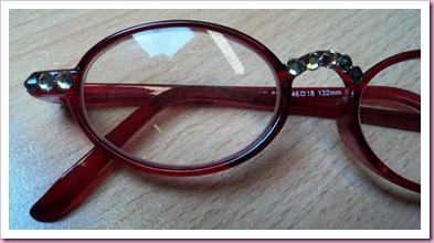 My embellished reading glasses