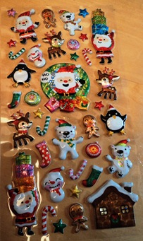 Accessorize Christmas Stickers