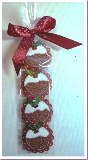 Christmas Pudding Mints
