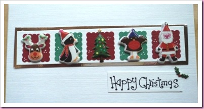 Accessorize Sticker Christmas Card