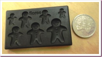 Tiny Gingerbread Man Moulds