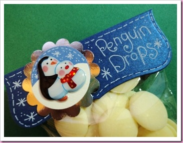 Penguin Drops Sweetie Candy Bag Crafts