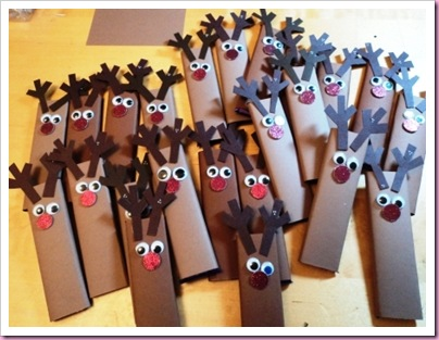 Rudolph Candy Chocolate Bars