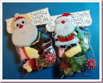 Santa's Penny Mix Special Christmas Candy bag Favor