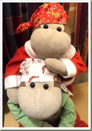 Mum's Monkey Festive Bandana 1
