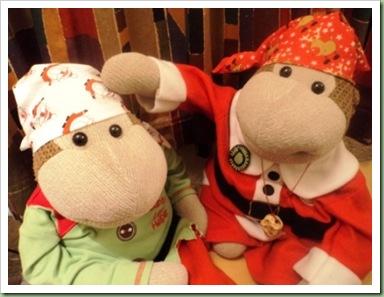 Mum's Monkey festive Bandana 2