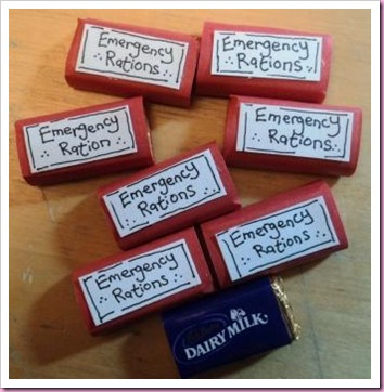 Emergency Chocolate Rations