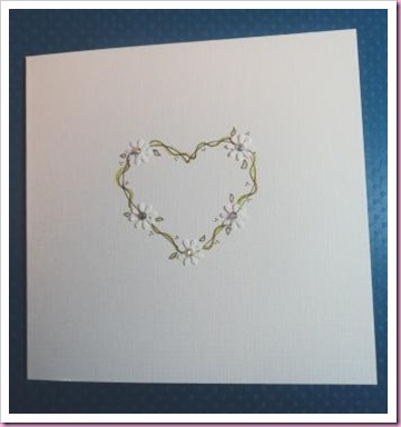 Delicate Hand Drawn heart