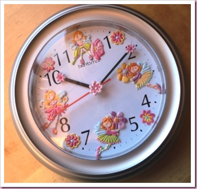 Altered Fairy Clock