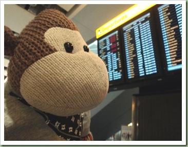 Departure Board Heathrow Airport