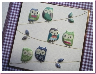 Little Owls card