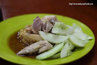 Hoe kei rest chicken balls @ Melaka