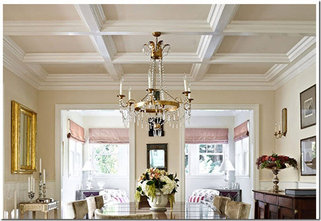 coffered ceiling TH