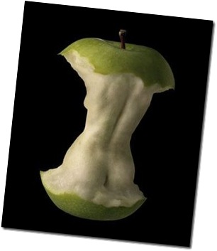 Soft Green Woman Apple