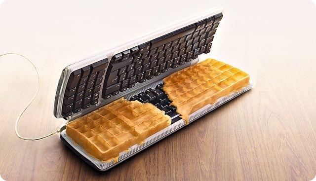 Keyboard food