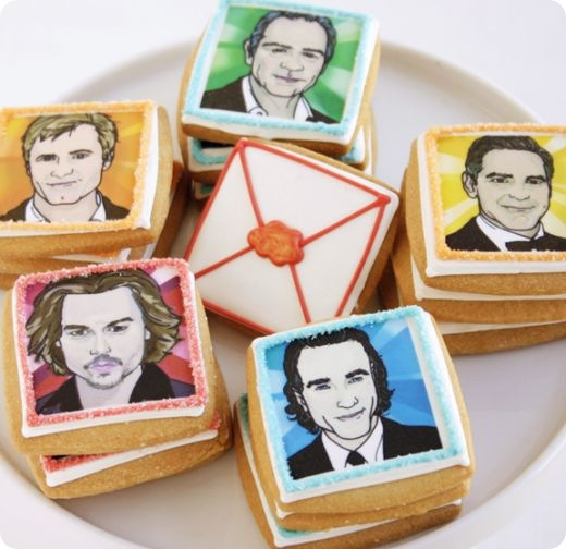 Male Celeb face Biscuits