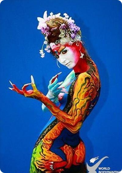Body Painting Festival | Women Painting | Full Body Painting