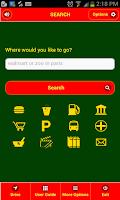 Screenshot of Rota de Navegação