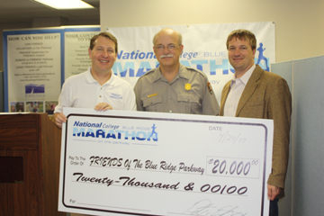 Blue Ridge Marathon Check Presentation