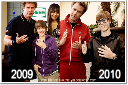 Will Ferrel upstaged at his own premiere by Justin Bieber