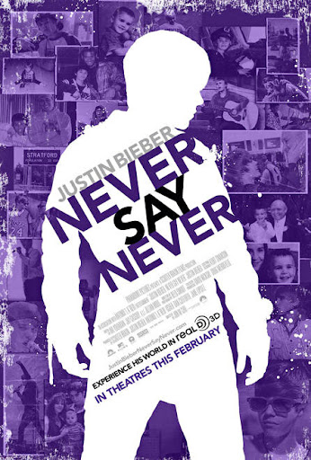 New Justin bieber movie poster