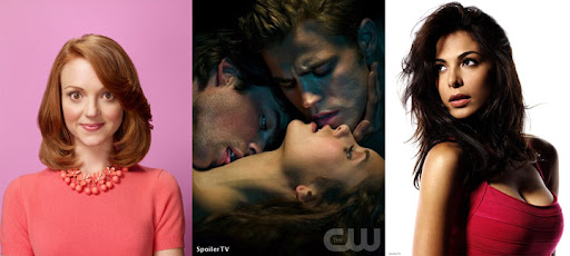 Glee, The Vampire Diaries e Crash