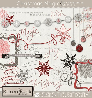 dhd-karen funk-christmas magic-element preview