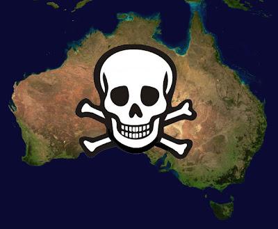 AUSTRÁLIA- SE QUER MORRER VÁ PARA LÁ ^.=.^ Mapa