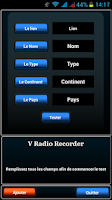 Screenshot of V Radio Recorder Free