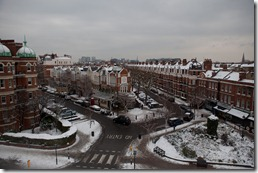 View from Nnenna's flat