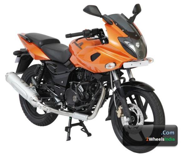 Pulsar 220F Metallic Orange Color