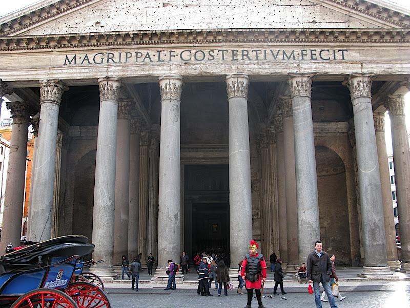 Entrada al Pantheon