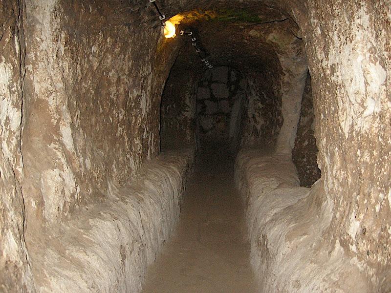 Derinkuyu: la ciutat subterrània