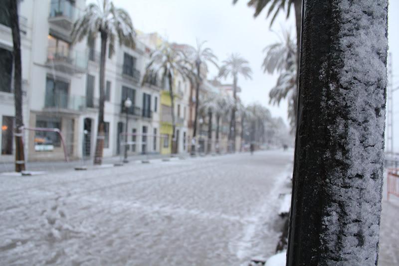 Rambla de Badalona nevada IV