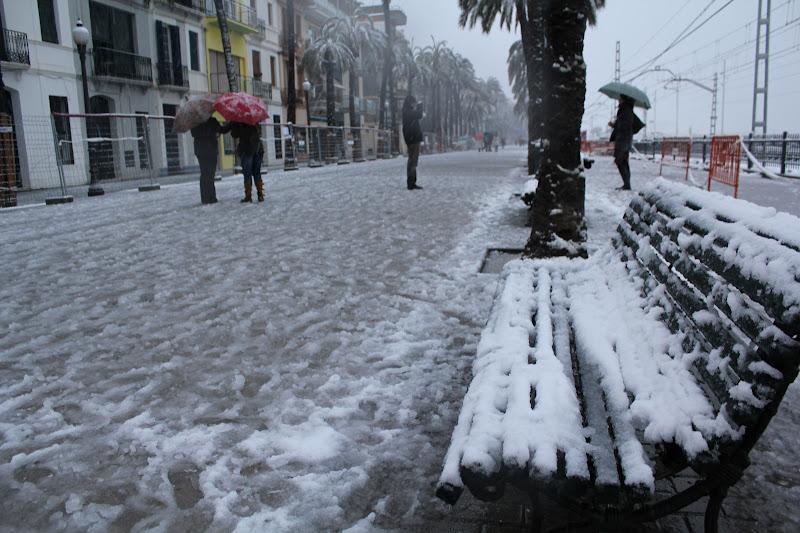 Rambla de Badalona nevada III