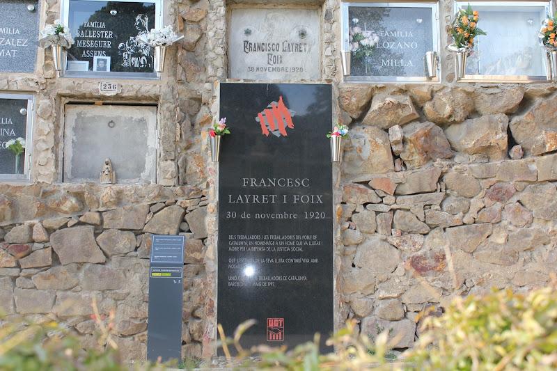 Tomba de Francesc Layret