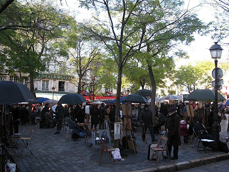 Fira de pintors de Montmartre