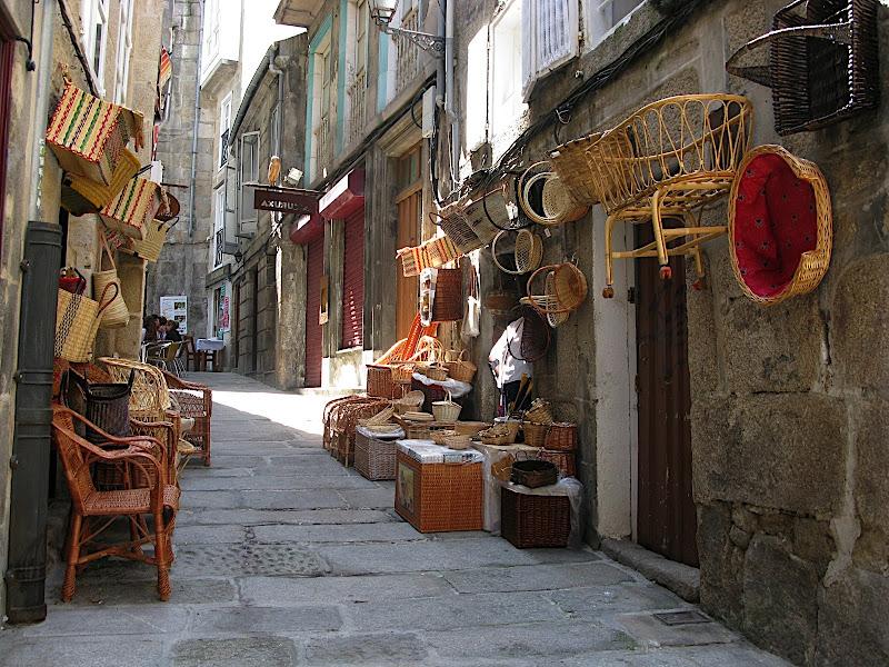 Carrer dels cistellers de Vigo