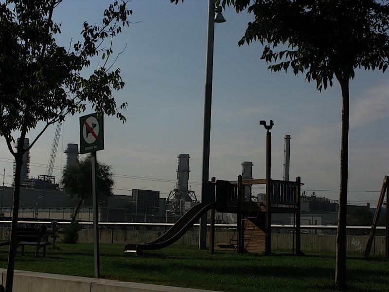 Parc infantil al delta del Besòs