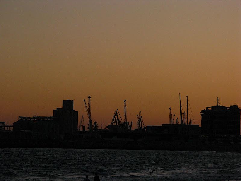 Skyline del port de Tarragona