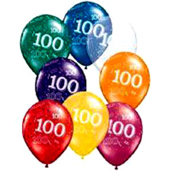 100th Balloons
