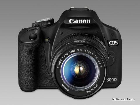 Canon EOS 500D: 15,1 Megapíxeles y vídeo de Alta Definición real