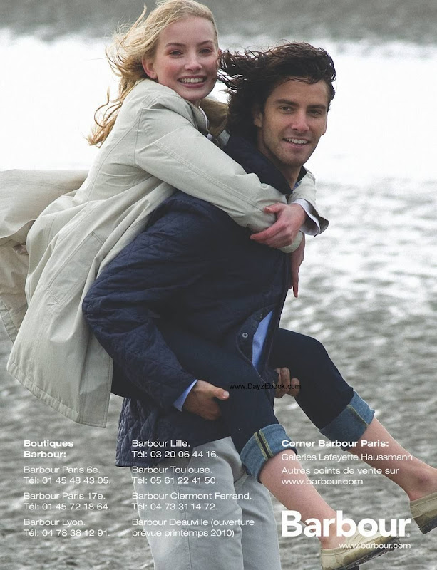 Barbour, campa&ntilde;a primavera verano 2010