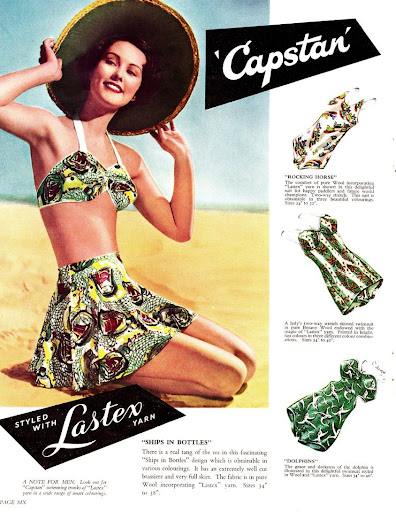 Catalogo Lastex baño 1950
