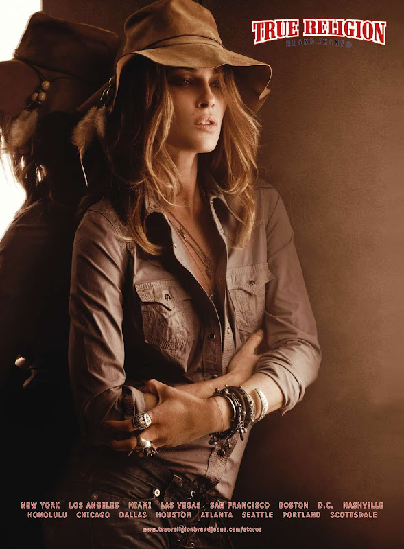 True Religion, campa&ntilde;a oto&ntilde;o invierno 2010
