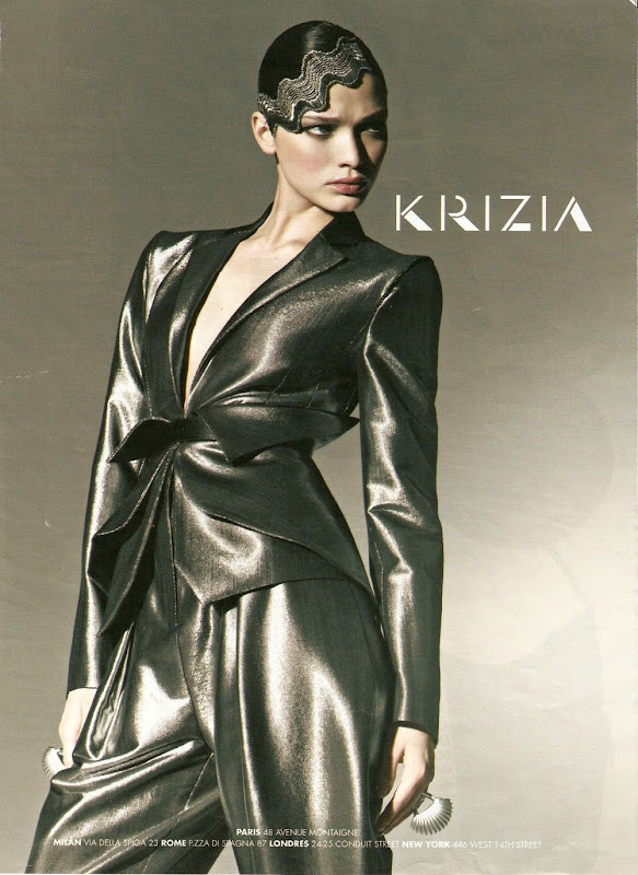 Krizia, campa&ntilde;a oto&ntilde;o invierno 2010