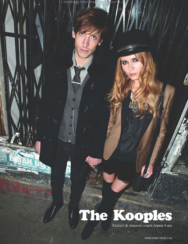 The Kooples, campa&ntilde;a oto&ntilde;o invierno 2010