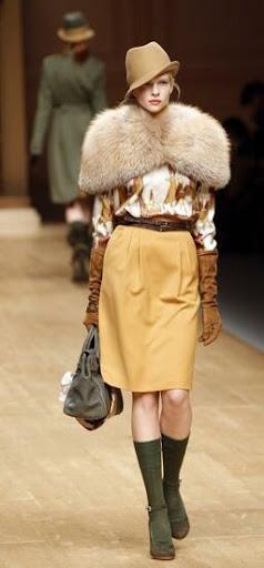 Blugirl, colección otoño invierno 2011
