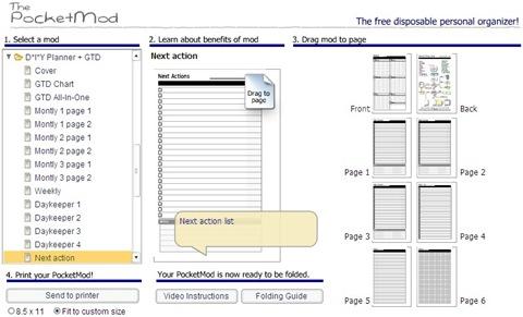 rePocketMod_DIY Planner