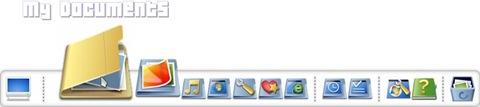 Mt GTD Desktop (Rocket Dock)